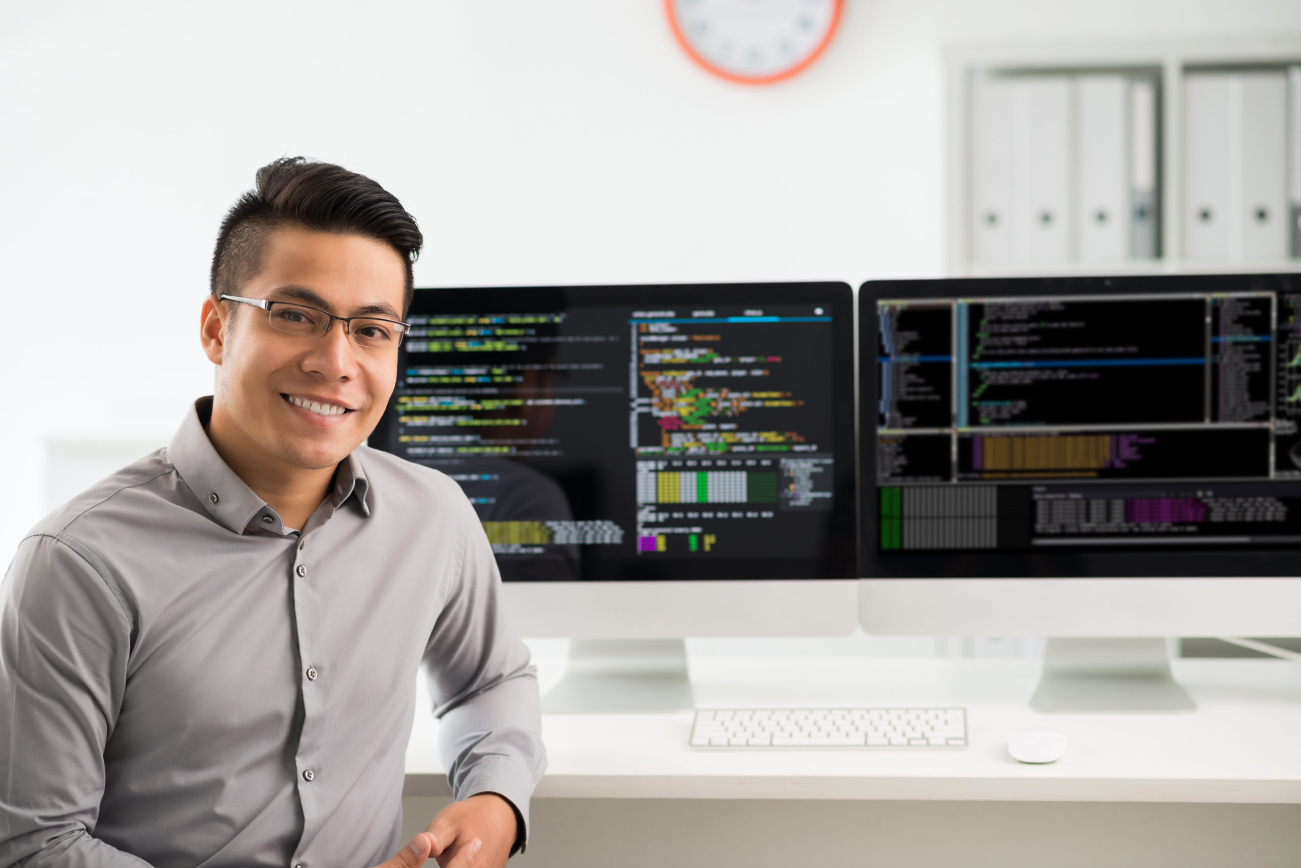 Young software engineer